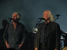 Graham Nash and David Crosby - David Gilmour, London, September 2015