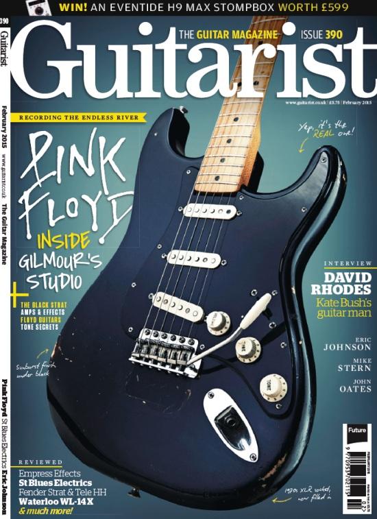 Статья о студии Дэвида Гилмора в журнале Guitarist