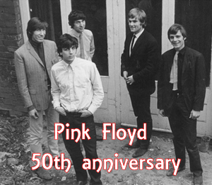 Pink Floyd in 1965 - 50th anniversary