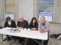 David Gilmour and Polly Samson at 2015 Borris House Festival of Writing and Ideas
