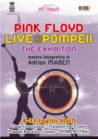 Pink Floyd Live @ Pompeii exhibition poster