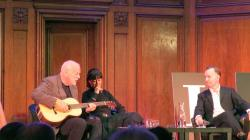 David Gilmour, Polly Samson and Andrew O'Hagan - Porchester Hall, London, 15th October 2015