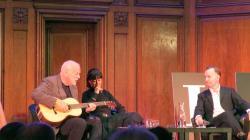 David Gilmour, Polly Samson and Andrew O'Hagan - Porchester Hall, London, 15th October 2015