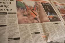 Live 8 newspaper articles