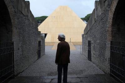 Adrian Maben in Pompeii