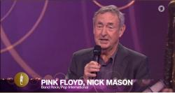 Nick Mason - 2015 Echo music awards
