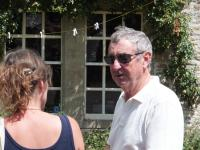 Nick Mason - open weekend for gardens, 2015