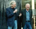 Roger Waters and Nick Mason - Pink Floyd plaque unveiling in London