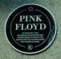 Pink Floyd plaque, University of Westminster, London
