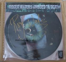 Roger Waters - Amused To Death 2015 limited numbered picture disc - personally signed by Roger himself