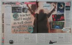 Roger Waters interview, The Sun, 19th June 2015