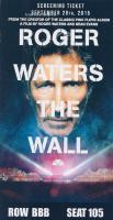 Roger Waters - The Wall movie world premiere in New York