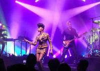 Sarah Brown, 2013 Simple Minds tour. Picture: Marie Lopez / Marie Lopez Photography