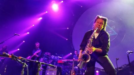 Scott Page with Brit Floyd, 2015