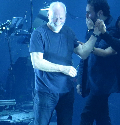 David Gilmour at the Royal Albert Hall in London, October 2015