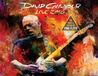 David Gilmour 2016 Rattle That Lock tour