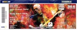 David Gilmour - Vienna, Austria 2016 ticket