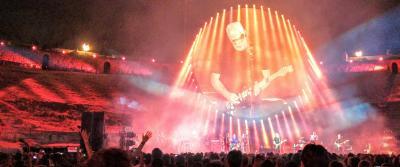 David Gilmour - Pompeii, July 2016