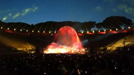 David Gilmour - Pompeii, July 7th