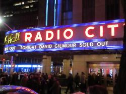 David Gilmour - Radio City Music Hall, New York, April 2016