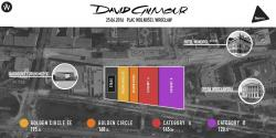 David Gilmour - Wroclaw, Poland, seating/ticket chart