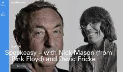 Nick Mason and David Fricke, New York City, November 2016