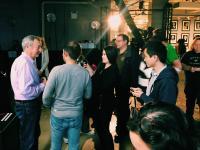 Nick Mason at AOL's BUILD Studio in New York City