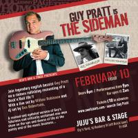 Guy Pratt is The Sideman, London February 2017