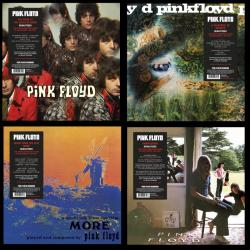 Pink Floyd Records - first four vinyl releases, 2016