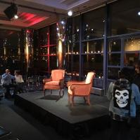 Nick Mason at Speakeasy filming in New York City