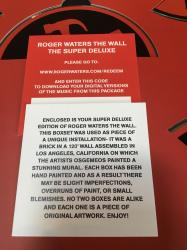 Roger Waters The Wall Super Deluxe Edition box set