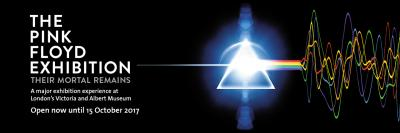 The Pink Floyd Exhibition: Their Mortal Remains at the V&A in London May - Oct 2017