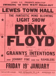 Pink Floyd - Lewes Town Hall 1968