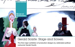 Gerald Scarfe exhibition at House of Illustration