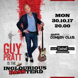 Guy Pratt is the Inglorious Bassterd - Basel, Switzerland, October 30th 2017