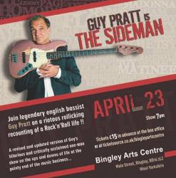 Guy Pratt is The Sideman - Bingley Arts Centre, April 2017