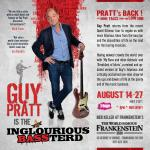 Guy Pratt - Edinburgh Fringe Festival 2017 shows - Inglourious Bassterd