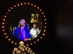 The AMLOR/DSOT display at The Pink Floyd Exhibition: Their Mortal Remains at London's V&A