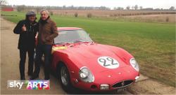 Brian Johnson with Nick Mason, Sky Arts 'Life on the Road'