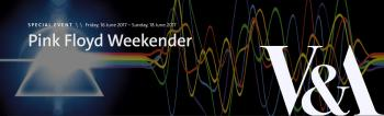 Pink Floyd Weekender at London's V&A, June 2017