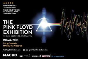 The Pink Floyd Exhibition: Their Mortal Remains - Rome, Italy from January 2018