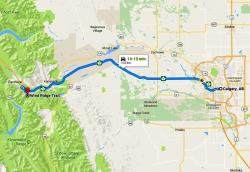 Google Map of Wind Ridge Trail