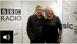 Nick Mason and Liz Kershaw, BBC Radio 6 Music, October 2018