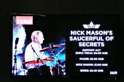 Nick Mason's Saucerful Of Secrets - Amsterdam, September 2018