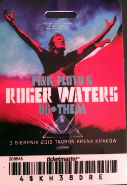 Roger Waters - Krakow ticket