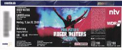 Roger Waters - Cologne 2018 ticket