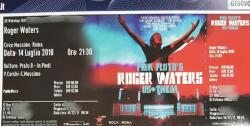 Roger Waters - Rome ticket 2018