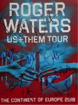Roger Waters 2018 European Tour programme fully signed
