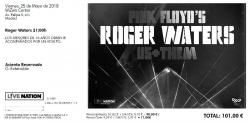 Roger Waters - Madrid 2018 ticket