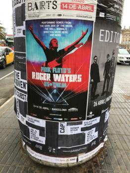 Roger Waters - Barcelona poster